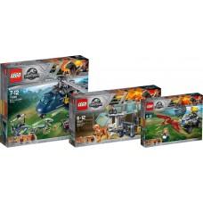 LEGO JURASSIC WORLD 75926+75927+75928 Rinkinys!