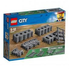 LEGO® City Bėgiai ir posūkiai 60205