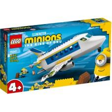 LEGO® Minions Pakalikas pilotas treniruotėje 75547