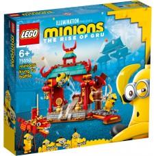 LEGO® Minions  Pakalikų kung fu kova 75550