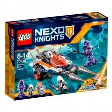 LEGO Nexo Knights  Lance dviejų iečių kautynių mašina 70348