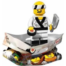 THE LEGO® NINJAGO® MOVIE™ minifigūrėlės   Suši virėjas-19   71019