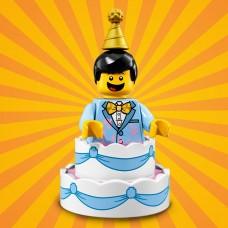 LEGO Vakarėlis serija 18  I Berniukas Tortas I 71021- 10