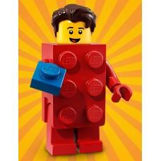 LEGO Vakarėlis serija 18  I Berniukas su Raudonu LEGO Kostiumu I 71021- 2