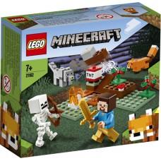 LEGO® Minecraft Nuotykis taigoje 21162