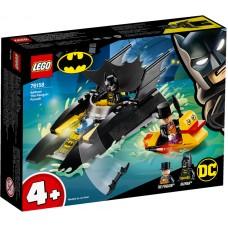 LEGO® DC Pingvino gaudynės šikšnosparnio kateriu 76158