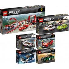 LEGO Speed Champions  I RINKINYS I 75884+75885+75886+75887+75888+75889