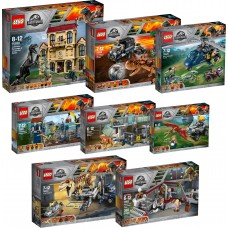 LEGO JURASSIC WORLD 75926+75927+75928+75929+75930+75931+75932+75933 Rinkinys!