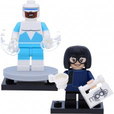LEGO Disney Serie 2 Minifigūrėlės: 71024-17-18