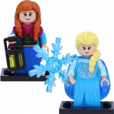 LEGO Disney Serie 2 Minifigūrėlės: 71024- 9-10