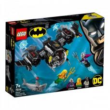 LEGO® DC Batman™ šikšnosparnio povandeninis laivas ir kova po vandeniu 76116