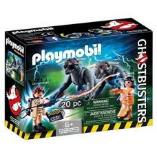 """9223 Playmobil I Ghostbusters"""" """"Venkman"""" ir """"Terror Dogs"""" figūrėlės I"""
