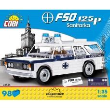 """Cobi """"FSO 125p Sanitarka"""" - """"Youngtimer"""" kolekcija 24545"""