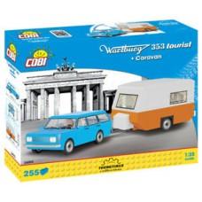 """Cobi """"Wartburg 353 Tourist + Caravan"""" - """"Youngtimer"""" kolekcija 24592"""