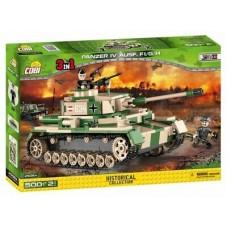 "Cobi istorinė kolekcija ""Bausatz Panzer IV Ausf"". F1 / G / H 2508A"