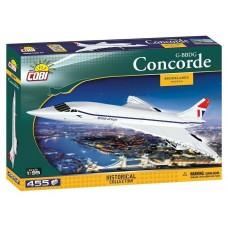 COBI Historical Collection 1917 Concorde Model Aircraft Plane White