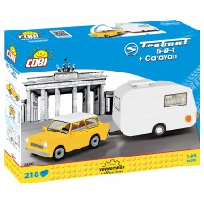"""Cobi """"Trabant 601 + Caravan"""" - """"Youngtimer"""" kolekcija 24590"""