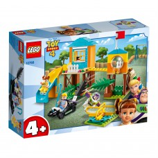 LEGO® 4+  Bazo ir Bo Pyp nuotykiai žaidimų aikštelėje 10768