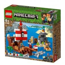 LEGO® Minecraft™ Piratų laivo nuotykiai 21152