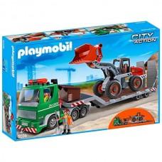 PLAYMOBIL®  bortinis sunkvežimis su priekiniu krautuvu 5026