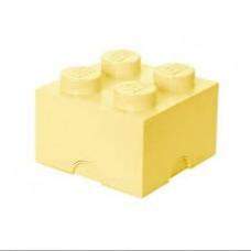 LEGO Dėžė detalėms (Šviesiai geltona 4)