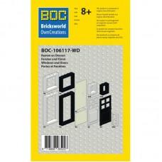 BOC-106117-WD Langų ir durų rinkinys