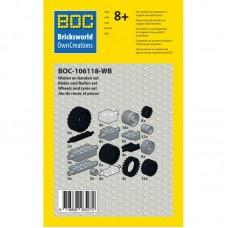 BOC-106118-WB Padangų ir ratų rinkinys