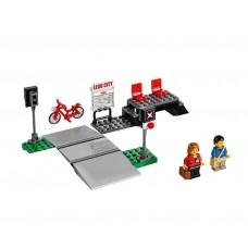 LEGO City Geležinkelio pervaža iš rinkinio 60051