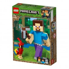 LEGO Minecraft™ BigFig Styvas su papūga 21148