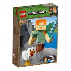 LEGO®  Minecraft™ BigFig Aleks su viščiuku 21149