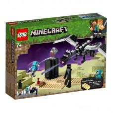LEGO® Minecraft™  Mūšis Pabaigos dimensijoje 21151