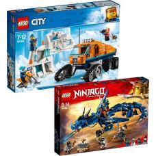 LEGO Ninjago 70652 + City Arktis 60194 RINKINYS veikiantis kartu su LEGO BOOST 17101