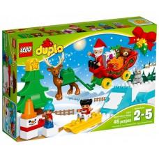 LEGO DUPLO Kalėdų Senelio žiemos atostogos 10837