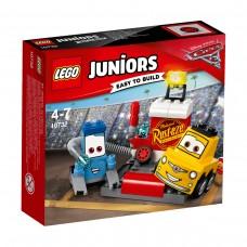 LEGO® Juniors | Guido ir Luidžio techninės priežiūros stotelė | 10732