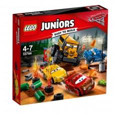 LEGO® Juniors | Pašėlusio 8-eto lenktynės Griaustinio slėnyje | 10744