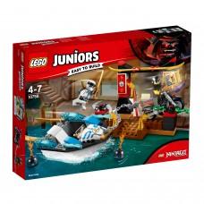 LEGO® Juniors Zane nindzių laivo gaudynės 10755