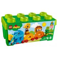LEGO® DUPLO® Creative Play | Mano pirmoji gyvūnėlių kaladėlių dėžutė | 10863