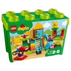LEGO® DUPLO® Creative Play | Didelė žaidimų aikštelės kaladėlių dėžutė | 10864