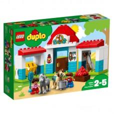 LEGO® DUPLO® Town | Ponių arklidės ūkyje | 10868