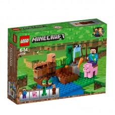 LEGO® Minecraft™ |  Moliūgų ūkis | 21138