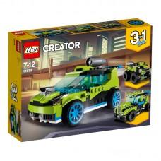LEGO® Creator |  Raketinis ralio automobilis| 31074