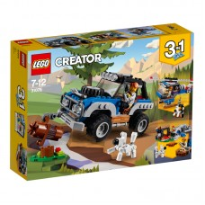 LEGO® Creator | Nuotykiai laukinėje gamtoje | 31075