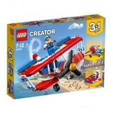 LEGO® Creator | Nutrūktgalvių kaskadinių triukų lėktuvas | 31076