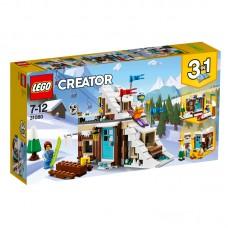 LEGO® Creator |  Modulinės žiemos atostogos | 31080