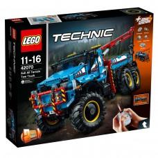 LEGO® Technic™ 6 x 6 Visureigis vilkikas 42070