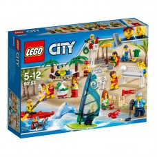 LEGO® City Town |Žmonių rinkinys – pramogos paplūdimyje | 60153