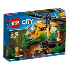 LEGO® City Jungle Explorers | Džiunglių krovininis sraigtasparnis | 60158