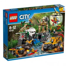 LEGO® City Jungle Explorers    Džiunglių tyrimų aikštelė   60161