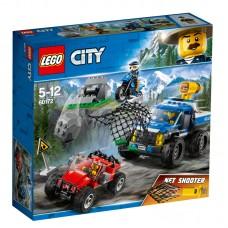 LEGO® City Police | Gaudynės žvyrkelyje | 60172