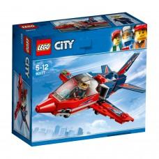 LEGO® City Great Vehicles |Figūrinio skraidymo šventės reaktyvinis lėktuvas | 60177